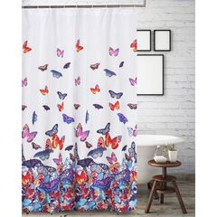 Mariposa Shower Curtain by Barefoot Bungalow, MULTI