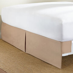 Tailored Magic Bedskirt, MOCHA