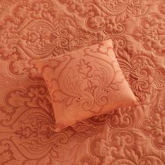 "Amelia 16"" Square Pillow, DEEP AMBER"