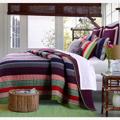 Marley Quilt Set by Greenland Home Fashions,