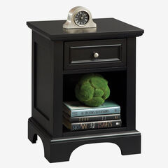 Bedford Black Night Stand, BLACK