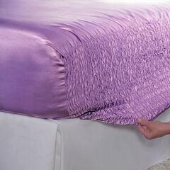 Bed Tite™ Satin Sheet Set , LILAC