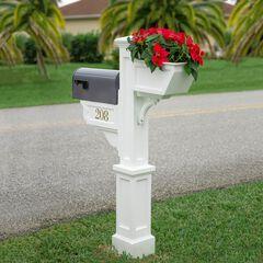Signature Plus Mail Post, WHITE