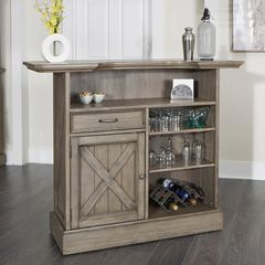 Mountain Lodge Bar by Home Styles, MULTI GRAY