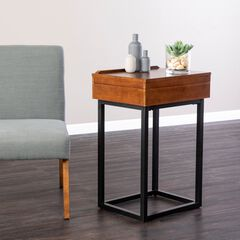 Holly & Martin Cayson Storage Lift-Top Side Table,
