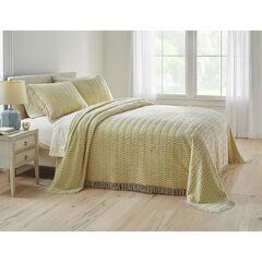 Wave Chenille Bedspread,