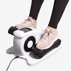 Circulation Elliptical Leg Exerciser, WHITE BLACK