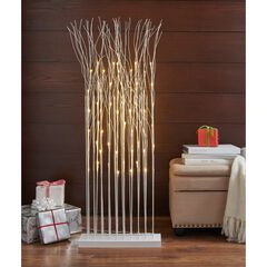 Pre-Lit 4'H Twig Cluster,