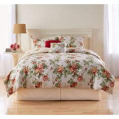 Margaret Printed Reversible 5-Pc. Comforter, FLORAL MULTI TAUPE