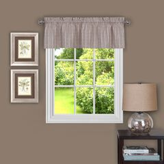 "Sydney 58"" x 14"" Window Curtain Valance, LINEN"