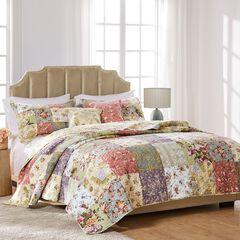 Blooming Prairie Bonus Quilt Set by Greenland Home Fashions, SAGE
