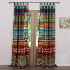 Southwest Curtain Panel Pair by Greenland Home Fashions, MULTI