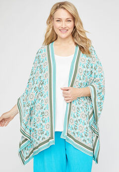 Springwater Gauze Kimono,