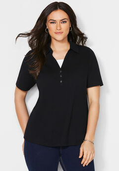Suprema Polo Duet Top,