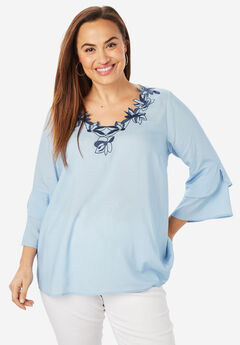 Soft Applique Tunic,