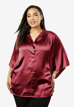 Satin Blouse,