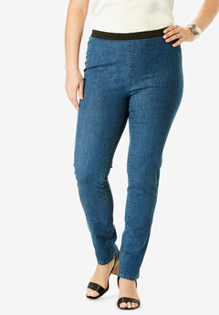 042c004b2 Straight Leg Stretch Denim Jeggings