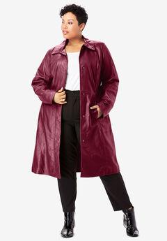 Trench Coat, MERLOT