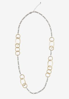 Circle Link Necklace,