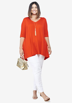 Fit & Flare Tunic,