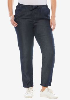 Tencel® Drawstring Pants,