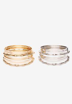 Bangle Bracelet Set,