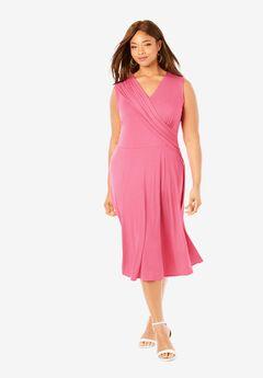 Drape-Over Dress,