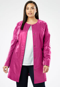 0613990ca67 Cheap Plus Size Leather Jackets   Suede for Women