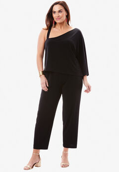 One Shoulder Jumpsuit,
