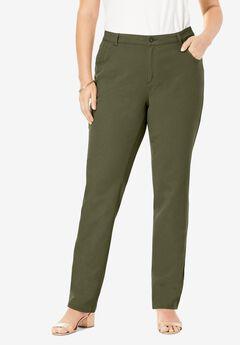 Classic Cotton Denim Straight Jeans,