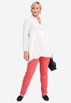 Soft Fit & Flare Tunic,
