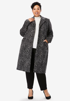 Wool-Blend Coat,