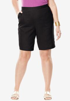 Linen Shorts,
