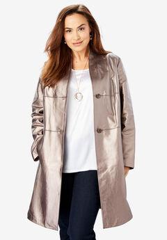 0650e3ca36f Plus Size Leather   Suede Jackets   Coats