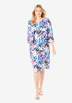 Printed Jacket Dress,