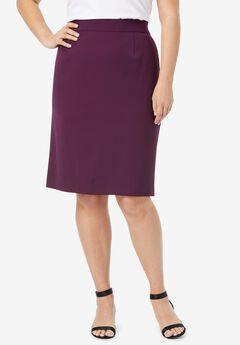 Bi-Stretch Pencil Skirt,