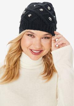 Jewel Hat, BLACK
