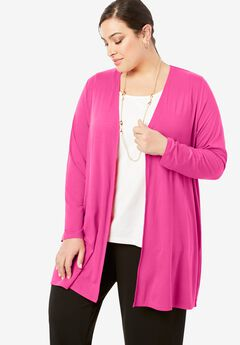 Open-Front Cardigan,