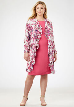 Cascade Jacket Dress,