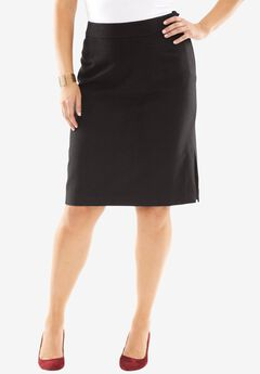 Wool Pencil Skirt,