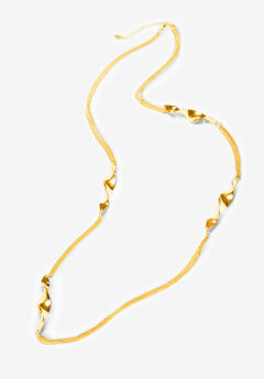Twisted Knot Necklace,