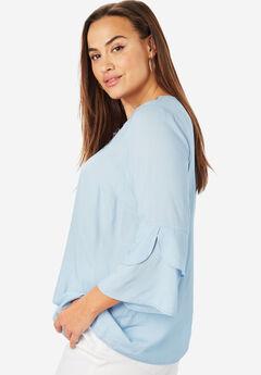 Soft Applique Tunic,