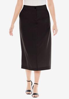 Long Bi-Stretch Skirt,