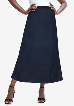 Jegging Skirt, INDIGO WASH