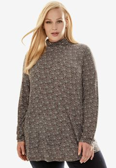 Long Sleeve Turtleneck Tunic,