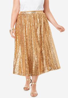 Sequin Skirt,