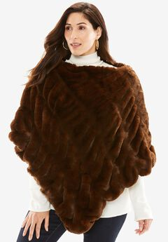 Fabulous Furs Couture Poncho,