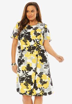 Asymmetric A-Line Dress,