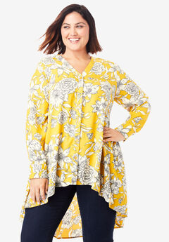 Hi-Low Georgette Tunic,