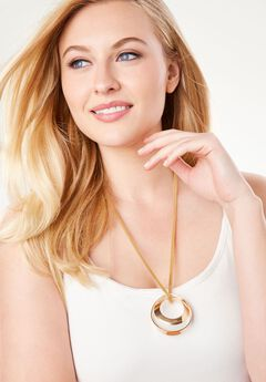 Circle Necklace,